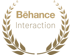 Contratulations to us! We won trophy at Behance for 