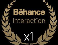 Gratulacje dla nas! Zdobyliśmy wyróżnienie od Behance za interaktywność w E-commerce.